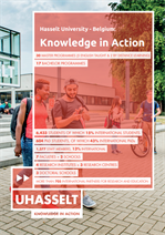Hasselt University - Belgium: KNOWLEDGE IN ACTION (EN)