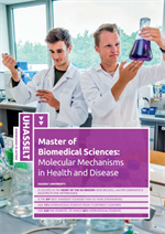 Master Degree of Biomedical Sciences - Molecular Mechanisms in Health and Disease