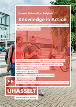 Hasselt University - Belgium: KNOWLEDGE IN ACTION