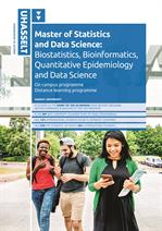 Master of Statistics and Data Science - On campus/Distance learning programme