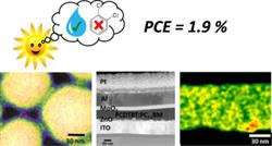 """Tuning of PCDTBT:PC71BM blend nanoparticles for eco-friendly processing of polymer solar cells"""