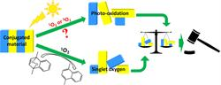 """An efficient and simple tool for assessing singlet oxygen involvement in the photo-oxidation of conjugated materials"""